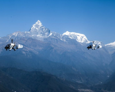 Heli Air Nepal offers 50 percent discount on mountain flights