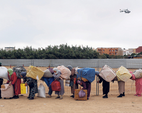 Morocco's 'mule' women scratch a living on Spanish enclave border