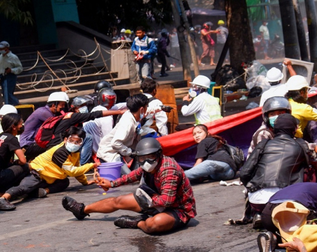 Nearly 40 killed in violent day of protests against Myanmar coup, U.N. envoy says