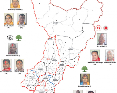 Bigwigs to battle for Gorkha constituencies