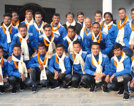Spirited Nepali football team to fly to Manila for Philippines clash