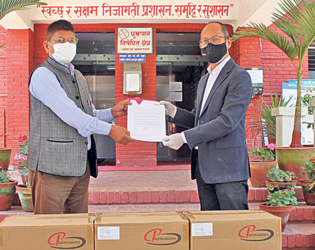 Ncell donates 150 units of oxygen concentrators