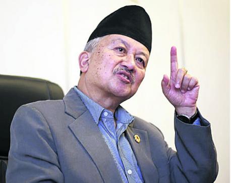 Nembang urges Deuba to pave way for new government