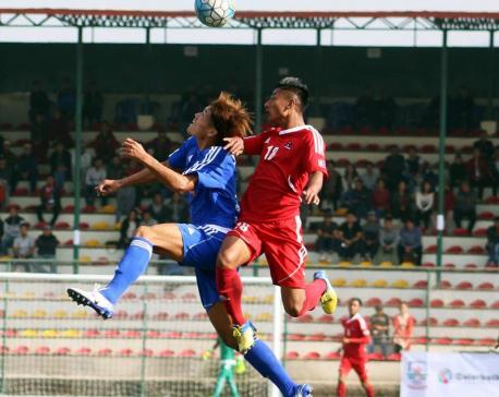 Nepal defeats 'Friends of Japan' (photo,video)