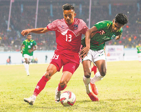 Nepal eyes fourth SAG gold in men's football