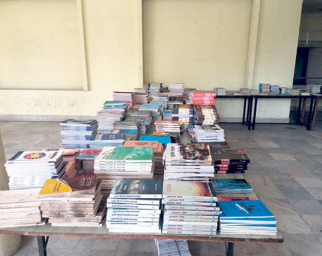 Nepal Academy Hosts Book Exhibit
