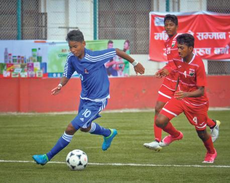Nepal reaches SAFF U-15 Championship semifinal
