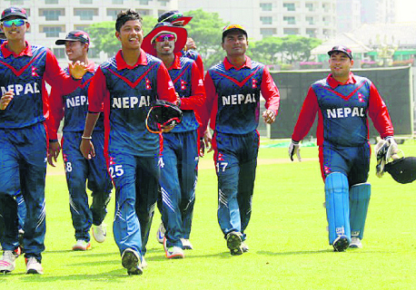 Nepal U-19 cricket team makes winning start