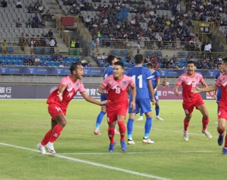 Anjan stars as Nepal beats Chinese Taipei 2-0