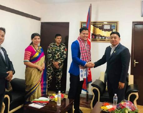 Vice President congratulates Mr Nepal Akshaya