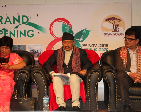 Nepal Africa film festival kicks off