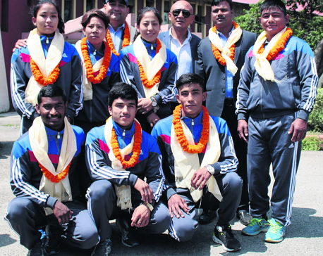 Nepali judokas to test their luck in Asian championships