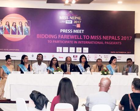 Nepali beauties five at international pageants