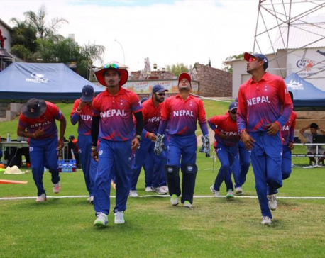 Govt announces cash prize for Nepali cricketers