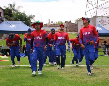 Karan's unbeaten 40 guides Nepal to 163 against Maldives