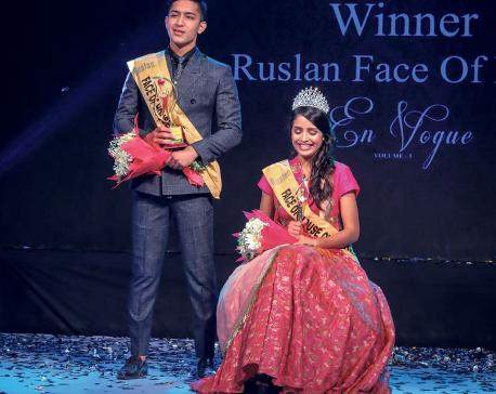 Samridhi and Ashirwad  New Faces of  House of Fashion