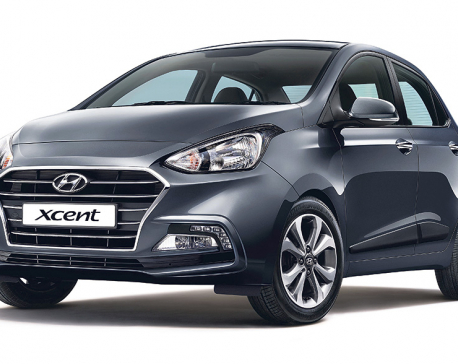 New Hyundai Xcent hits Nepali roads
