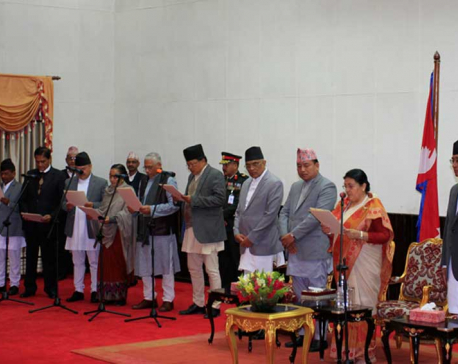 Newly-appointed provincial  governors  sworn-in