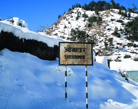 Snowfall forces Bajhang locals to take perilous journeys