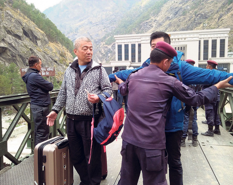 About 7,000 Chinese tourists visit Nepal via Rasuwagadhi till July