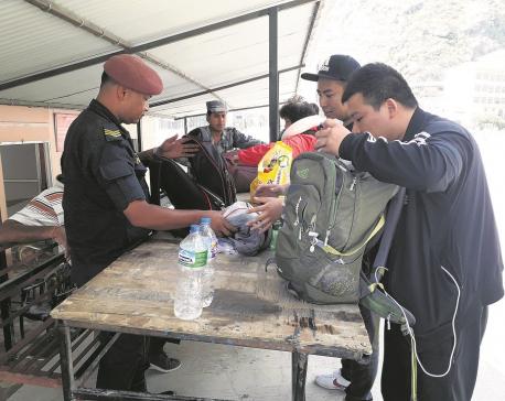 30,000 tourists enter Nepal through Rasuwagadhi