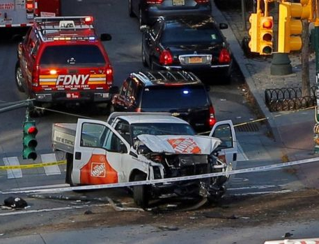 New York attack: Eight killed by man driving truck