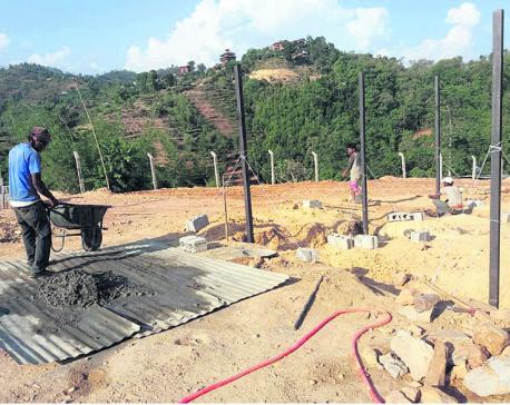 New zipline coming up in Nuwakot