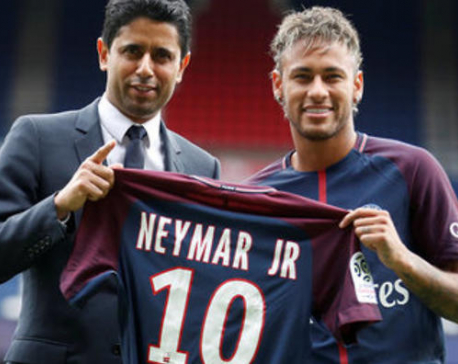 Neymar says he followed his heart, not the record money, to PSG