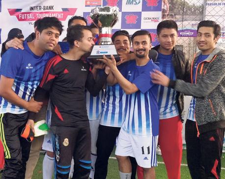 NIC Asia wins NIB Inter-bank Futsal