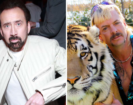 Nicolas Cage to play Joe Exotic from Tiger King' in new scripted series