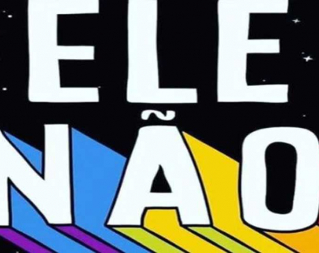 #NotHim Brazilian women unite behind hashtag against Bolsonaro