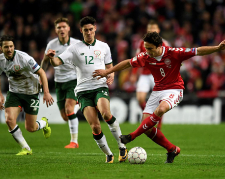 Randolph frustrates Denmark as Ireland grab goalless draw