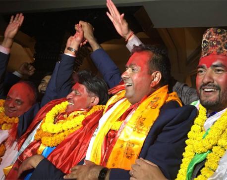 Bhaban Bhatta elected NRNA president