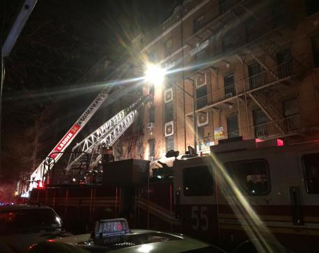 Twelve dead in New York City apartment fire - mayor