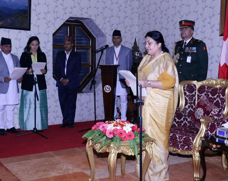 Ambassadors take oath