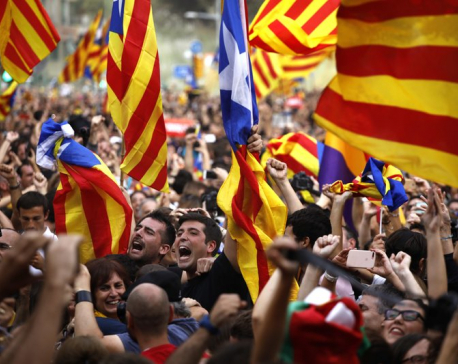Separatist leaders' roles in Catalan ballot in judges' hands