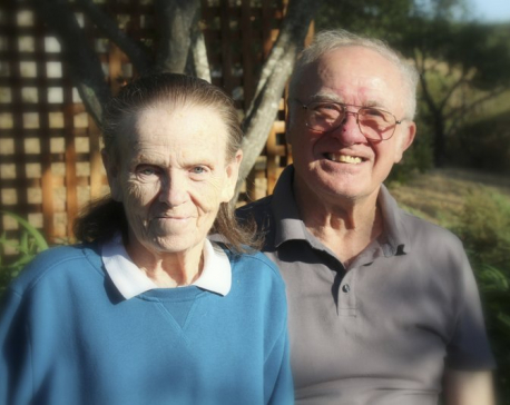 Older couples die together or cling to each other in fires