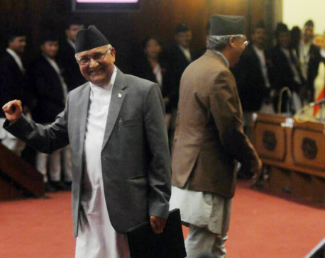 PM Oli resigns