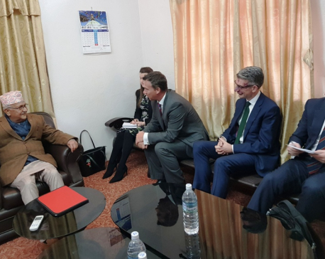 UML Chair Oli urges UK to invest in Nepal