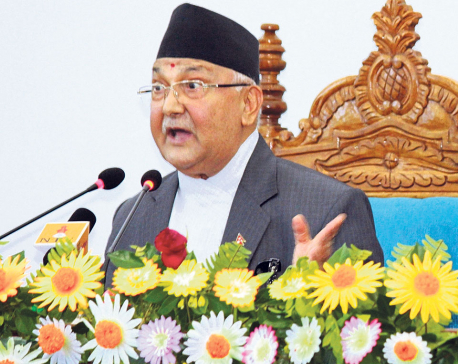 Oli assures Madhesis of constitutional amendment