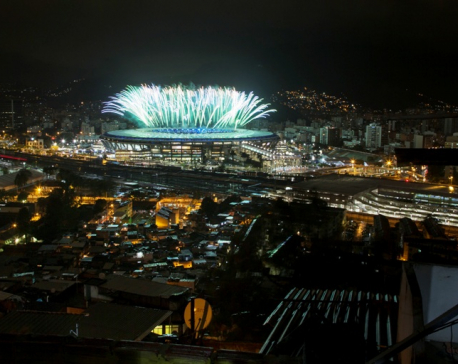 Samba, reflections and pride in final Rio Olympics party (photo feature)