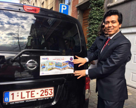 Campaign for Nepal's tourism begins in Belgium