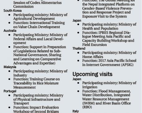 No dip in civil servants' overseas trips