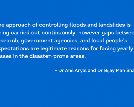 Floods and landslides in Nepal: Causes, consequences, and ways forward