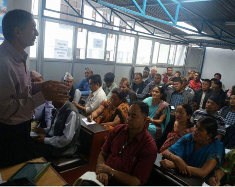 Orientation for local representatives organized in Dolakha