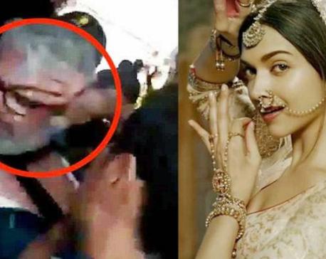 Padmavati row intensifies: After Jaipur, film set burnt in Kolhapur