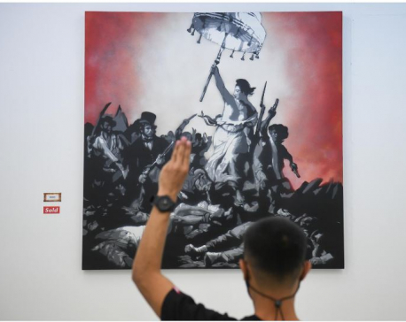 Thai artist tackles taboos with 'lese majeste' exhibition