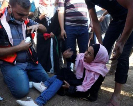 Israeli army opens fire on Palestinian protesters, injures 270