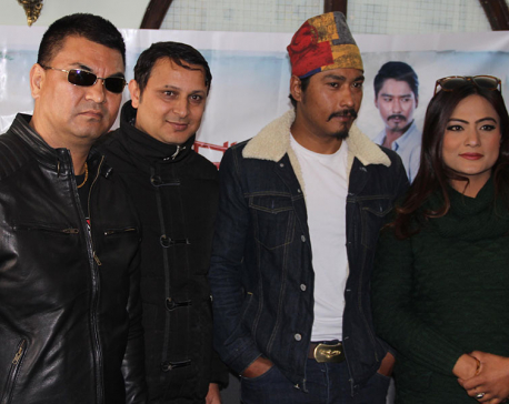Saugat as theater artist in 'Panche Baja'