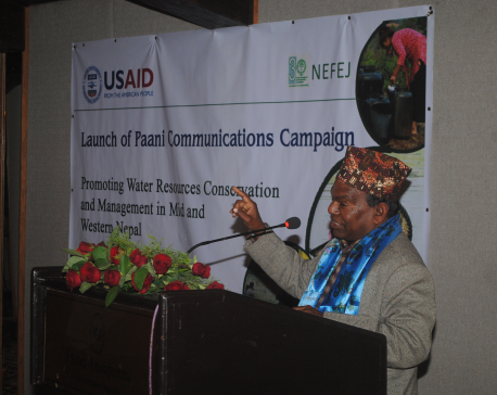 Paani awareness campaign to promote water resource conservation and management